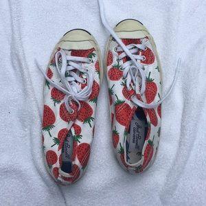 Jack Purcell x marimekko strawberry sneakers!